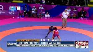 Oklahoma State Wrestler Daton Fix takes Gold Medal at Pan American Championships [Video]