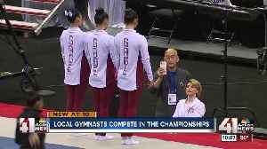 Leanne Wong sits 5th after first round of US Gymnastics Championships [Video]
