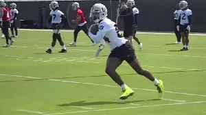 News video: Raiders Antonio Brown Files Grievance Over Helmet