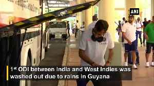India vs WI Team India arrives in Trinidad and Tobago for second ODI [Video]