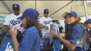 Dodgers Give Back With Play Ball Youth Clinic [Video]