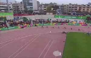 Jamaica's Fraser-Pryce breaks Pan Am Games 200 metre record [Video]