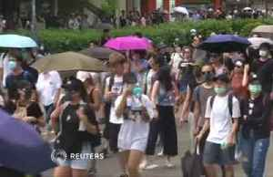 News video: Hong Kong hit by another weekend of protests