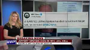 News video: Jeffrey Epstein has died by suicide, multiple sources tell NBC