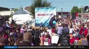 Democratic Presidential Hopefuls Flock To Iowa State Fair [Video]