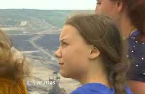 News video: Greta Thunberg visits climate protesters defending ancient German forest