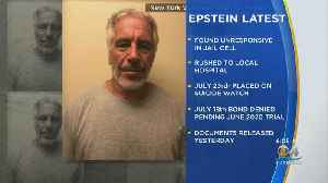 News video: Accused Sex Trafficker Jeffrey Epstein Found Dead In Jail Cell After Apparent Suicide