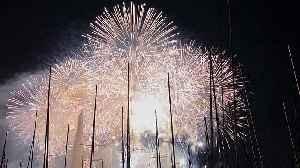 Breathtaking fireworks show lights up the skies over Geneva [Video]