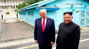 Trump: Kim says ready to restart talks when U.S.-S.Korea joint drills end [Video]