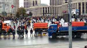 Tens of thousands attend opposition protest in Moscow [Video]