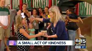 6-year-old Phoenix girl sells lemonade, donates money to homeless [Video]