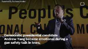 Andrew Yang Becomes Emotional During Iowa Town Hall [Video]