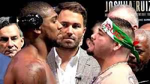 Criticism of Saudi Arabia as fight venue for Joshua vs Ruiz Jr [Video]