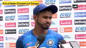 India vs WI Shreyas Iyer denies sticking to bat only at number 4 [Video]