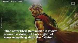 Bet You Didn't Know This About Chris Hemsworth [Video]