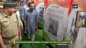 Secunderabad Railway Station organises photo exhibition ahead of Mahatama Gandhi birth anniversary [Video]