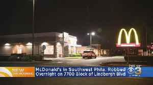 McDonald's In Southwest Philadelphia Robbed Overnight, Police Say [Video]