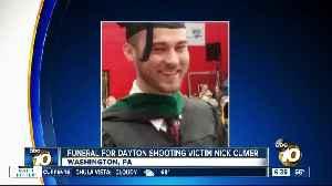 News video: Funeral for Dayton shooting victim Nicholas Cumer