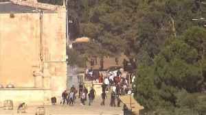 News video: Israeli police clash with Palestinians at Eid al-Adha gathering in Jerusalem