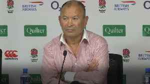 England boss Eddie Jones urges World Rugby to seek consistency on high tackles [Video]