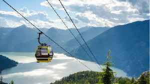 News video: Nearly 30 Cable Cars Crash Down In Canada