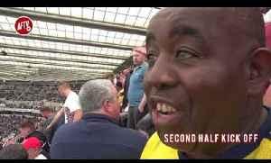 Newcastle 0-1 Arsenal Match Day Vlog | WET, WET, WIN!!! [Video]