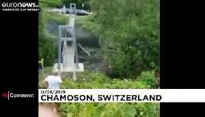 Two people missing after violent storm causes mudslide in Switzerland [Video]