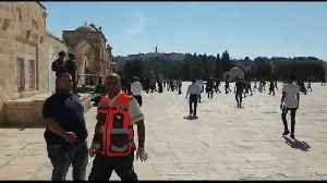 Tension at Jerusalem holy site as Muslim and Jewish festivals coincide [Video]