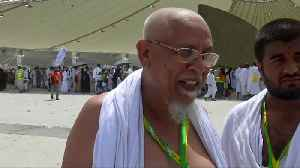 Haj pilgrims 'stone the devil' in Saudi Arabia [Video]