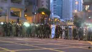 Hong Kong police fire tear gas as protesters spread acros the city [Video]