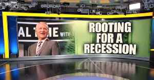 Leftist comedian Bill Maher is rooting for a recession