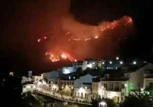Wildfire Rages in Gran Canaria [Video]