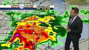 Metro Detroit Forecast: Rain moves back in [Video]