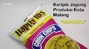 """Keripik Jagung Happy Tos Rasa """"ORIGINAL"""" Produksi Kota Malang [Video]"""