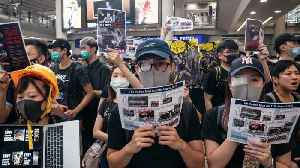 Hong Kong Airport Cancels More Than 100 Flights Over Protest [Video]