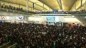 Cathay Pacific hit by Hong Kong protest links [Video]