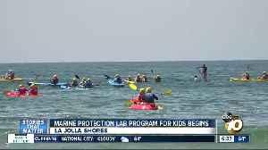 Program to help children learn about marine biology [Video]