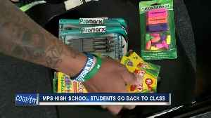 News video: MPS high school students return to class