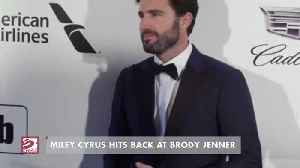 Miley Cyrus hits back at Brody Jenner with playful dig [Video]