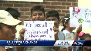 Residents in Canton rally for a change [Video]