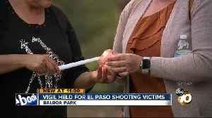 San Diegans hold vigil in support of El Paso shooting victims [Video]