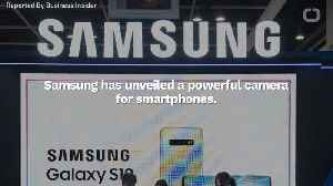Samsung Unveils Smartphone Camera With 108-Megapixels [Video]