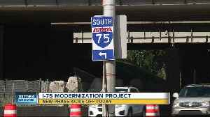 Segment 3 of I-75 modernization project now underway with construction from 13 Mile to 8 Mile [Video]