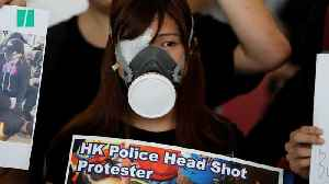 News video: Hong Kong Protests Grow Increasingly Violent As Travel Disruptions Continue