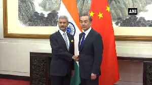 News video: Jaishankar meets Chinese minister amid Beijing's objection to Art 370 move