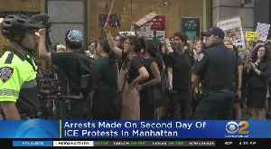 Dozens Arrested During ICE Protest Outside Amazon [Video]