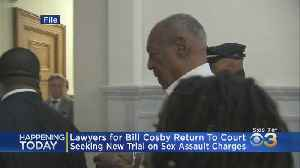 News video: Bill Cosby's Lawyers Return To Court Seeking New Trial On Sex Assault Charges
