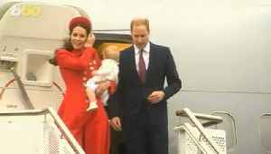 This is How the Royals Travel [Video]