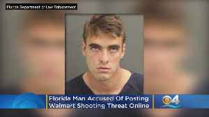 'Don't Go To Walmart Next Week': Florida Man Arrested After Shooting Threat On Facebook [Video]