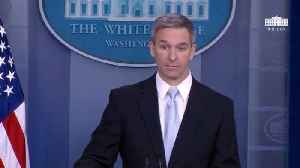 News video: Trump Immigration Official Ken Cuccinelli: 'Public Charge' Rule Would Penalize Green Card Applicants For Using Food Stamps